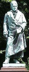 Standbeeld van Gauss in Braunschweig