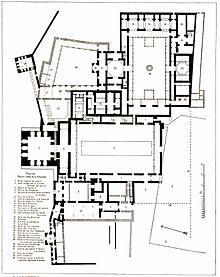 Plan des Palacio Arabe 1889