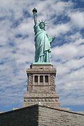 Het Vrijheidsbeeld, dat op 28 oktober 1886 werd geopend.