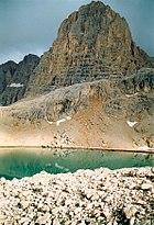 Direktaş, Yedi Göller (Zeven Meren), Ala Dağlar.