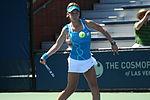 Mestach werd het eerste meisje dat zowel het enkelspel als het dubbelspel won op een Australian Open sinds Anastasia Pavlyuchenkova.