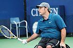 David Wagner versloeg Peter Norfolk voor het eerst in vijf finales om de Australian Open voor het eerst te winnen.