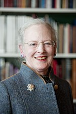Маргрете II - королева Дании с 1972 года.