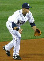 Evan Longoria, de AL-winnaar van 2008