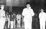 Sukarno erklärt Indonesien für unabhängig.