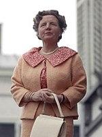 Königin Juliana der Niederlande, die an ihrem 71. Geburtstag, dem 30. April 1980, auf den Thron verzichtet hat.