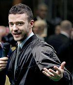 Justin Timberlake, Amerikaans acteur, zanger en danser vaak bestempeld als de Prince of Pop