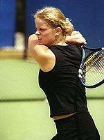 Kim Clijsters won haar eerste Australian Open titel.