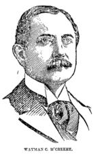 Wayman C. McCreery, mogelijke uitvinder van drie-kussen biljart