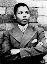 Mandela in zijn jongere jaren, ca. 1937