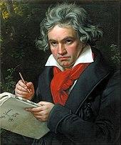 Ludwig van Beethoven (1770-1827), componist.