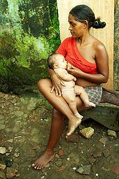 Borstvoeding in Natal, Brazilië