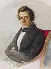 Фредерик Шопен, известный польский композитор и пианист