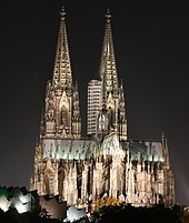 Кёльнский собор на Рейне является объектом Всемирного наследия ЮНЕСКО.