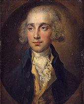 Arnold duelant, hrabě z Lauderdale, portrét od Thomase Gainsborougha