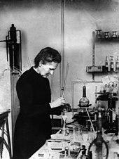 Мари Кюри, известный польский химик и дважды лауреат Нобелевской премии.