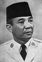 Sukarno, zakládající prezident Indonésie