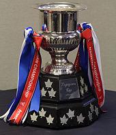 De trofee die de teams krijgen als ze het toernooi winnen.