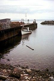 Zatoka Fundy podczas przypływu