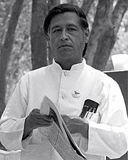 Cesar Chávez, dessen Geburtstag in den USA am 31. März begangen wird.