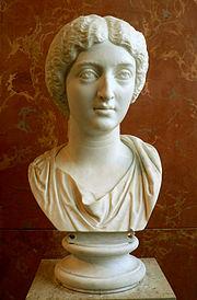Buste van Faustina de Jongere, Louvre, Parijs.