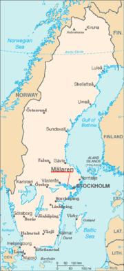 Kaart van de plaats