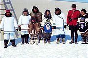 Einweihungsfeier für Nunavut am 1. April 1999.