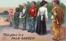 Dienstverleners, begin 20e eeuw