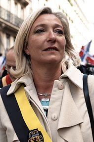 Marine Le Pen, partijleider van 2011 tot 2017.