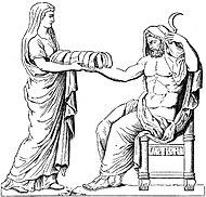 Кронос и его жена Реа