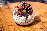 Het gezonde dessert in zelfgemaakte