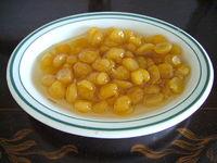 Ciecierzyca w sosie miodowym, deser gwatemalski.