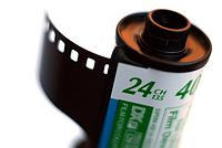 ISO 400 Fuji 135 kleurenfilm.