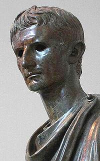Bronzen standbeeld van Augustus, Archeologisch Museum, Athene.