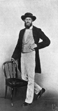 Fotografia Wallace'a zrobiona w Singapurze w 1862 roku