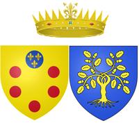 Arms of Rovere jako Wielka Księżna Toskanii