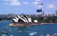 Australia Day viering in Sydney op 26 januari 2004.
