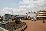 Centro città di Bangui