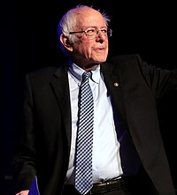 Sanders v březnu 2020