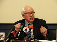 Sanders krátce po zvolení senátorem, 2006