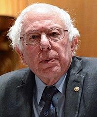 Sanders na shromáždění za ochranu sociálního zabezpečení, leden 2018