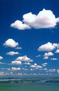 Wolken aan de hemel
