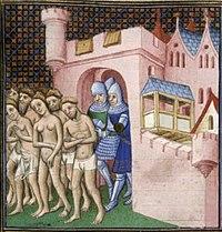 Katharen worden verdreven uit Carcassonne in 1209