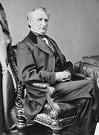 Afgevaardigde John A. Bingham van Ohio, de belangrijkste auteur (opsteller) van het Veertiende Amendement