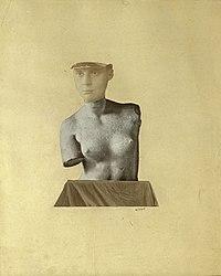 Johannes Theodor Baargeld: Mensagem Típica Vertical como Representação do Dada Baargeld, 1920