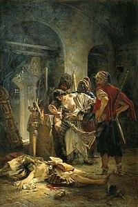 Das Bild Die bulgarischen Märtyrerinnen von Konstantin Makovsky (1877)