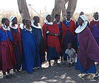 Kobiety z Maasai