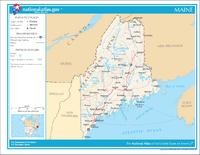 Maine wurde am 15. März 1820 zum 23. US-Bundesstaat.