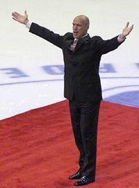 Mark Messier, empossado em 2007.
