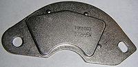 Een neodymium magneet die uit een harde schijf is gehaald